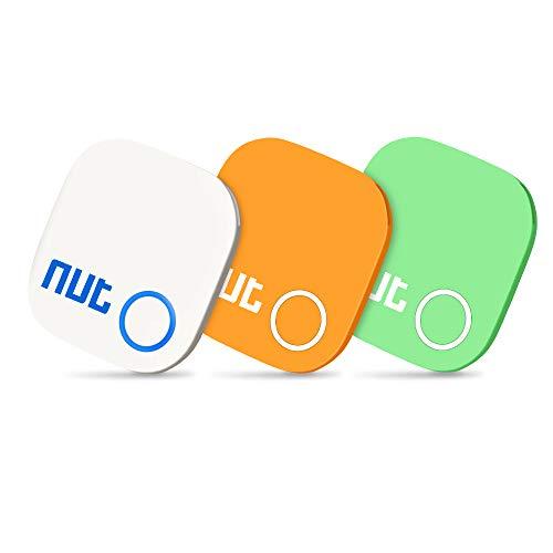 Trova chiavi 3 in 1 per iOS/Android, localizzatore GPS Bluetooth con allarme bidirezionale/modalità silenziosa per telefono, telefono, animali domestici, chiavi, portafogli, valigie ecc.