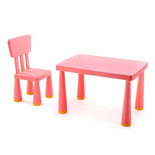 NBVCX Furniture Decoration Household Table Chairs Set Childrens Boys Girls Kids Desk Toddlers Furniture Study Playing Nursery Trendy Sturdy Durable Red