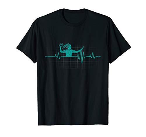 Handball T-Shirt - EKG Handballer Geschenk - Sportler Shirts