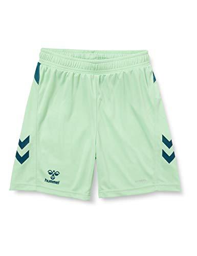 HUMMEL Unisex-Child 210989 Shorts, Green ASH/Blue Coral, 140