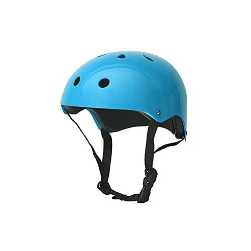 Yaxing Casco de Bicicleta para niños,Casco Bicicleta liviano,Casco de Ciclismo Ajustable para niños y niñas,Cascos de monopatín Rejillas de ventilación,Visera extraíble