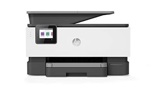 HP OfficeJet Pro 9010 (3UK83B) Stampante Multifunzione a Getto di Inchiostro, Stampa, Scansiona, Fotocopia, Fax, Wifi, A4, HP Smart, Smart Tasks, 6 Mesi di Instant Ink Inclusi nel Prezzo, Nera
