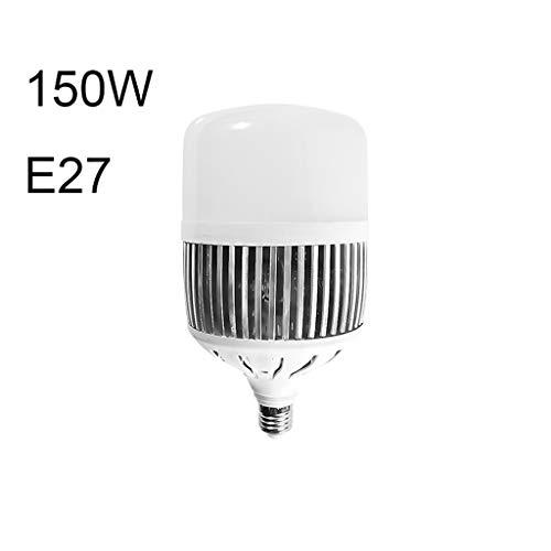Teri Deckenventilator LED-Lampe E27, E40, 10W ~ 200W Haus Fabrik Werkstatt Anlage Lichter super helle Beleuchtung Lampe Energiesparlampe Deckenventilator Licht (Color : E27-150W)
