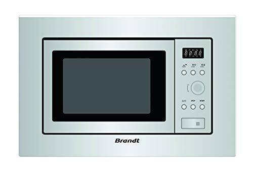 Brandt BMS6112X Four micro-ondes intégrable 700 W Gris 17 l