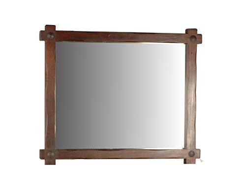 MiaMöbel Spiegel Mexico Möbel 123x113x7 cm Landhausstil Glas Massivholz Pinie Kolonialstil