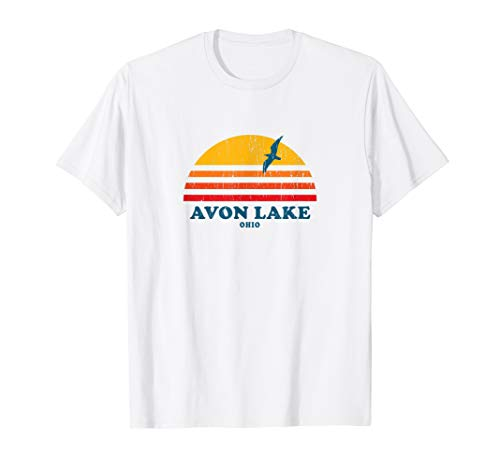 Avon Lake Ohio OH T-Shirt Vintage Casual Graphic 70s Tee
