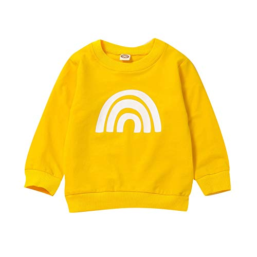 Bedrucktes T-Shirt für Kleinkinder Langarm Rundhalsausschnitte Jungen Mädchen...