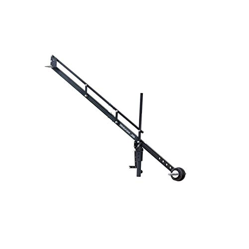 PROAIM 9ft Jib Arm for DSLR Video Camera up to 8kg/17.6lb | Adapts Fluid Camera Head, Pan Tilt, DJI Ronin Gimbals | for Tripod with 1.25 inch Pipe/Mast | Best Travel-Friendly Crane + Bag (P-9)