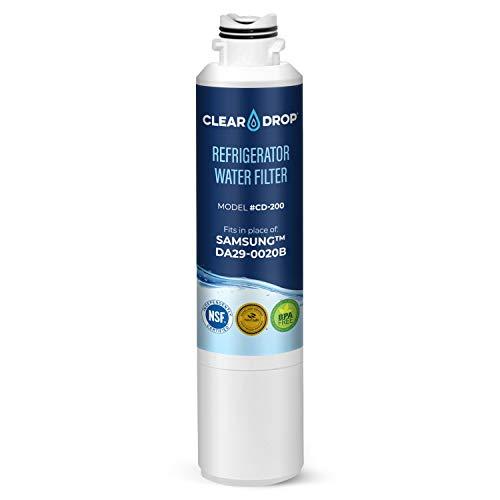 filtro agua refrigerador samsung fabricante CLEAR DROP