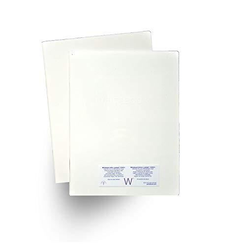 Whitebook Taccuini, C003-L «Ludwig», carta a quadretti FSC, set con 2 quaderni da 60 pag, 248x190 mm (ricarica per Whitebook Large)
