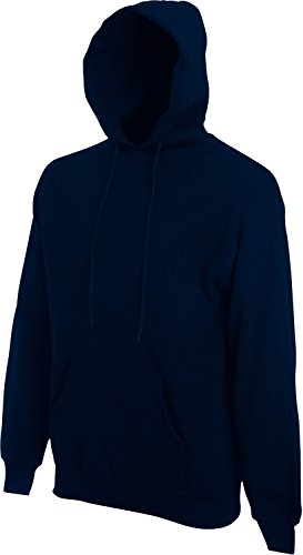 Fruit of the Loom Hooded Sweat Deep Navy - XXL