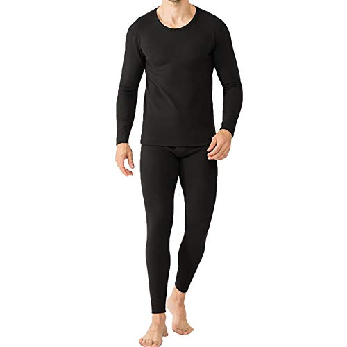 31xBfPQqeXL. SS500  - Wamsatto Thermal Underwear Set Men's Warm Thermo Tops and Pants