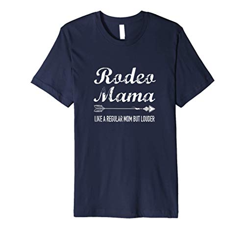 Rodeo Mama Regular Mom But Louder Shirt, Horse Mom Gift