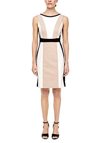 s.Oliver BLACK LABEL Damen kurz Kleid, 09S8 Colourblock, 44