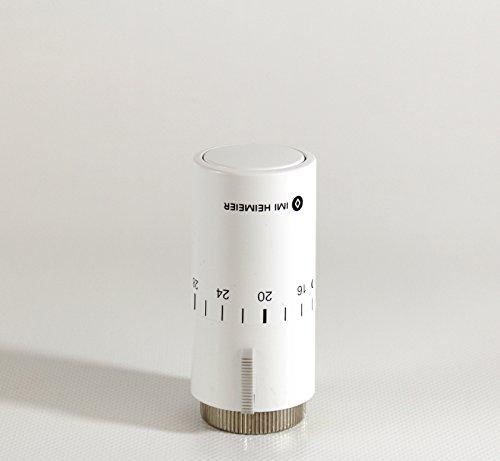 IMI Heimeier Kopf 7500-00.500 weiß, 6-28°C Thermostatkopf, Weiss RAL 9016