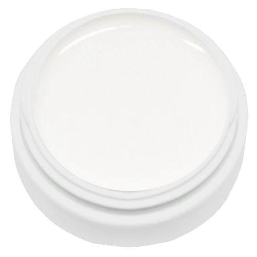 km-nails Lot de 250 ml Natural French White – Soft White – Blanc Naturel pour le Natural Look durcit sous UV et LED