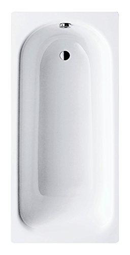 Kaldewei 01200 3 Stahl-Badewanne Saniform Plus | 360-1 | Badewanne | Stahlwanne | 140 x 70 cm | Weiß