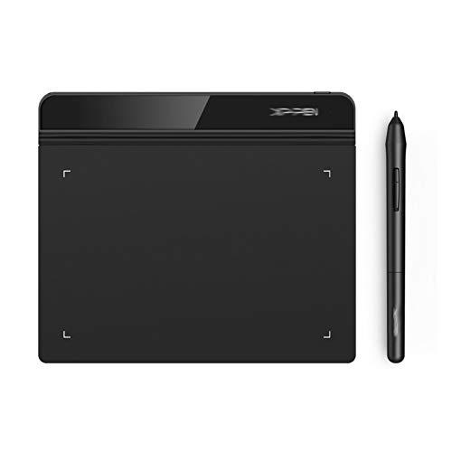 WLSJ Tableta de Dibujo 6 x 4 Pulgadas Tablero de Dibujo 8192 Grado para Windows Mac Tablero de Dibujo Digital para Dibujo y Dibujo