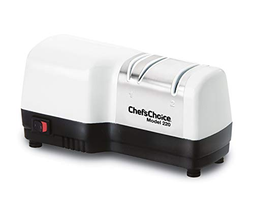 Chef'sChoice 0220100 knife sharpener, 2-Stage, White