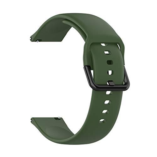 riou Correa Compatible con Xiaomi Huami Amazfit GTS ,Correa de Reloj Banda de Reemplazo Silicona Suave Sports Pulsera Reloj Inteligente,130+87mm
