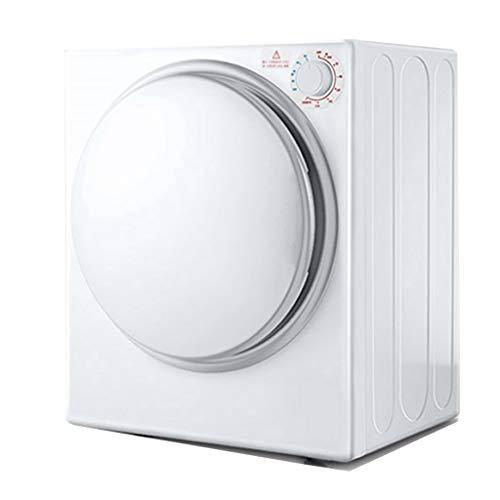 Secadora Pequeña, Secadora Automática De Ropa De Gran Capacidad De 4 Kg, Secado De Amasado Dinámico 3D, Ruido Máximo 56DB, Puede Eliminar El Olor