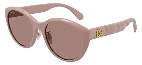 Gucci Occhiali da sole GG0814SK 004 occhiali Donna colore Rosa lente marrone taglia 56 mm