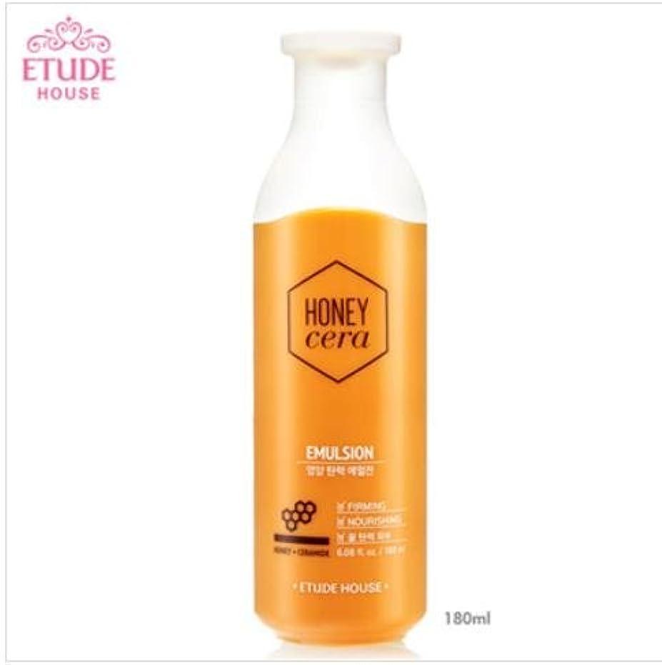 略語瞳女性[エチュードハウス] ETUDE HOUSE [ハニーセラ 栄養弾力 エマルジョン 180ml] (Honey Sarah nutrition elastic Emulsion 180ml) [並行輸入品]