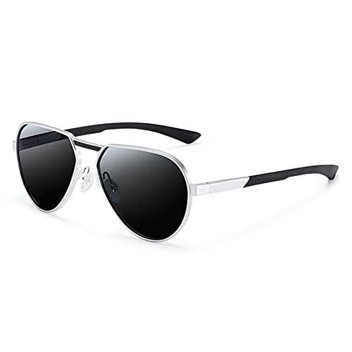 NBJSL Gafas de sol polarizadas Hombres Mujeres Aviador - Gafas de lente Uv400 de estilo vintage con estuche para gafas de sol exquisito