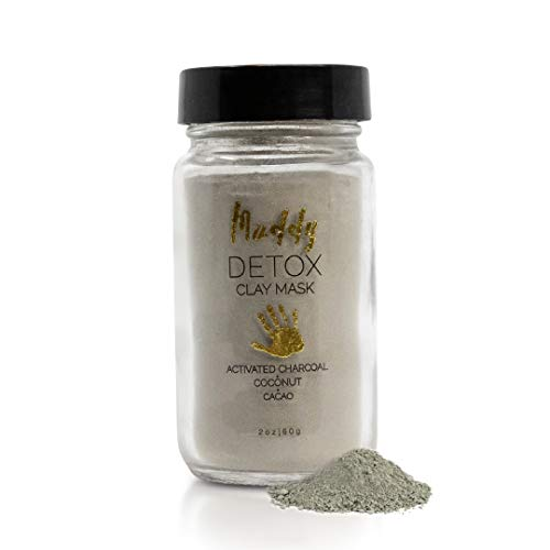 Muddy Body - Detox Clay Mask | Dead Sea Clay - Hydrating, Toning, and Detoxing Face Mask (2 oz)