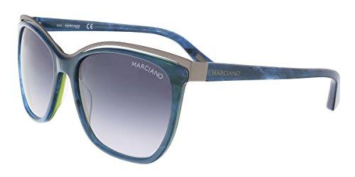 Guess By Marciano Sunglasses Gm0745 92B 58 Occhiali da Sole, Blu (Blau), 58.0 Donna