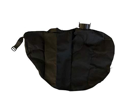 gartenteile Laubsauger Fangsack passend für Grizzly Tools ELS 2200 Elektro Laubsauger Laubbläser. Auffangsack für Laubsauger mit eckigem Anschluss und Reißverschluss zum entleeren.