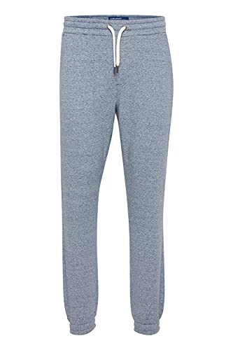 Blend Gojko - Pantalones de chándal para hombre, corte regular, Dress Blues Melange (1940241), L