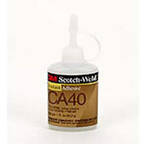 3M Scotch-Weld Instant Adhesive CA40, Clear, 1 fl oz Bottle