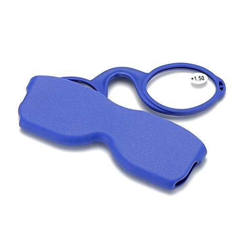 CNZXCO 2pcs Gafas De Lectura, Gafas De Lectura De Goma Compactas Multicolores, Gafas De Lectura De Silicona Modernas Y Portátiles, Decoración Personalizada para Gafas Lealtillas