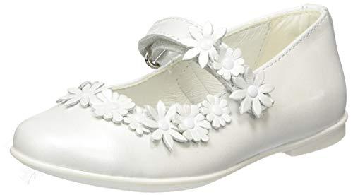 PRIMIGI Mädchen Ballerina Bambina Mary Jane Halbschuhe, Weiß (Bianco 5437000), 28 EU