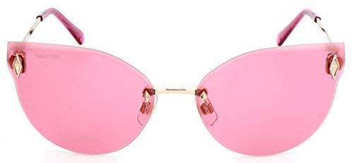 Swarovski SK0158-32S-61 Gafas de sol, Dorado (Gold), 61.0 para Mujer