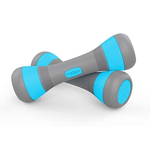 Verstellbare Hantel (1 - 2 kg), Handgewichte für Frauen, Fitness-Workouts, Core Home Fitness gratis Gewichte