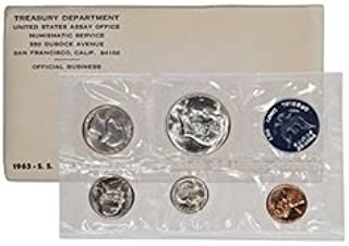1965 S US Proof Set State In original packaging from mint State quarters Proof