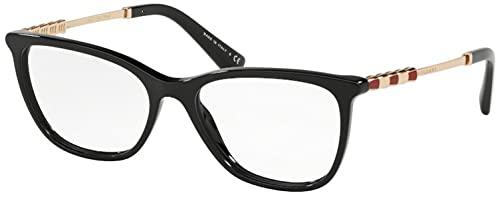 Bulgari 0BV 4161KB 5195 53 Gafas de sol, Negro (Black), Unisex Adulto
