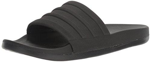 adidas Men's Adilette Comfort Slide Sandals, Black/Black, 13