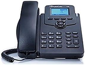 $72 » AudioCodes 405HD IP Phone - Corded - Corded - Black - 2 x Total Line - VoIP - Speakerphone - 2 x Network (RJ-45) - PoE Por...