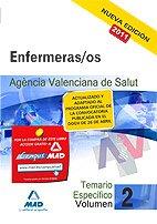 Enfermeras/os (ATS/DUE) de la Agencia Valenciana de Salud. Temario parte específica. Volumen II