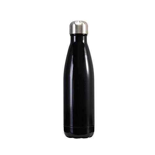 Frasco de vacío botella de acero inoxidable con aislamiento al vacío de 500 ml, un frasco de vacío para niños, escuela, jardín de infantes, deportes, al aire libre, bicicleta, fitness, camping