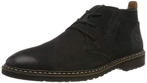 Rieker Herren 13930 Desert Boots, Schwarz (Schwarz/Schwarz/Kastanie 00), 46 EU