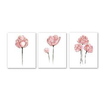 Best pink watercolor flowers Reviews