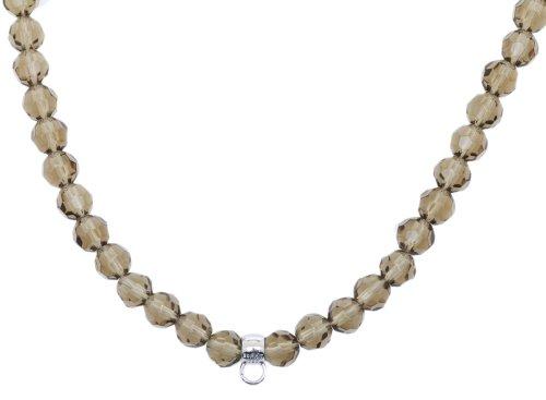 Esprit Damen Kette Collier Charm Silber Berry Stones ESNL91755H800