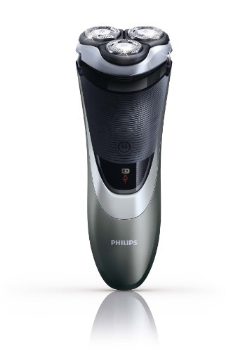 Philips PowerTouch 870 - Afeitadora eléctrica rotativa para hombre, color negro