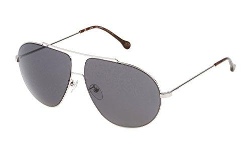 Loewe SLW477M63579F Gafas de sol, Shiny Palladium, 63 para Mujer