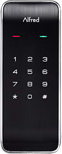 Save %13 Now! Alfred DB2 Smart Door Lock Deadbolt Touchscreen Keypad, Pin Code + Bluetooth, Up to 20...