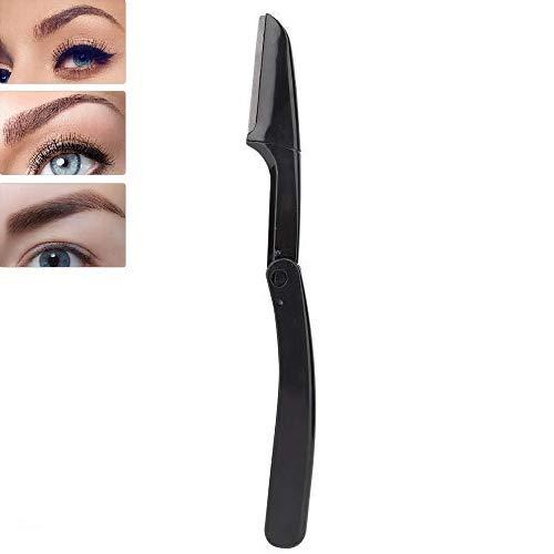 Faltbares Augenbrauen Rasiermesser, faltbares Augenbrauen Trimm Rasierklingen tragbares Augenbrauen Former Rasieren